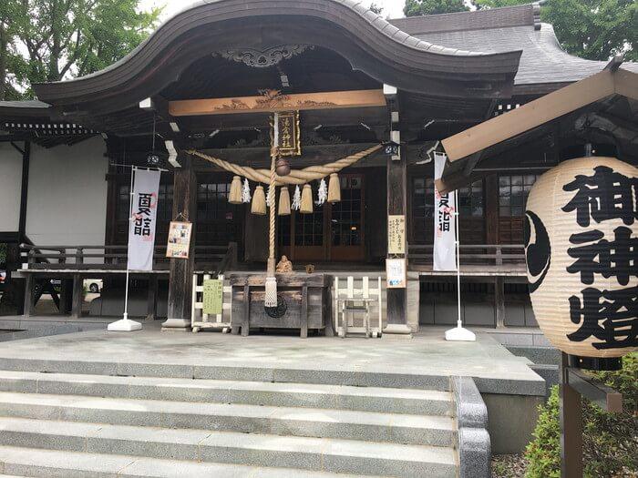 湯倉神社本殿