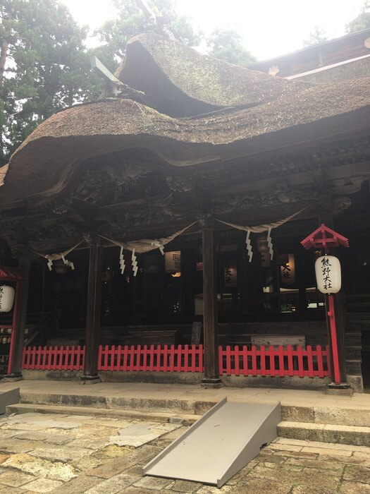 熊野大社(山形県)本殿