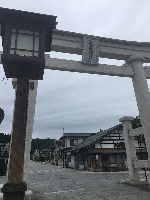 熊野大社鳥居